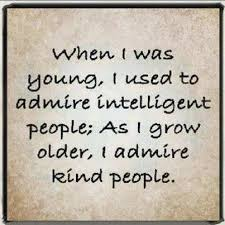 Kindness and Intelligence